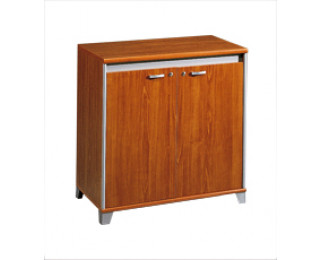 Meuble bas largeur 80 cm 2 portes mambo finition for Meuble bureau 80 cm