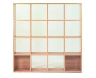 meuble cubic ineo 16 cases ch ne. Black Bedroom Furniture Sets. Home Design Ideas