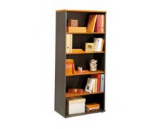 Bibliothèque JAZZ, largeur : 80 cm - Coloris aulne