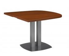 SANTOS Table 1/2 ovale palissandre
