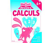 Livre d'aide aux devoirs : Calculs - 6 ans et plus