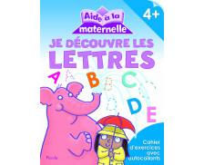 Livre d'aide à la maternelle : Découvrir les lettres - 4 ans et plus