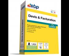 Logiciel EBP 2016 - Devis et facturation Classic + VIP
