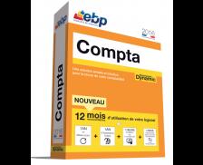 Logiciel EBP 2016 - Compta Dynamic 12 mois + VIP