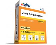 Logiciel EBP 2016 - Devis et facturation Dynamic 12 mois - VIP
