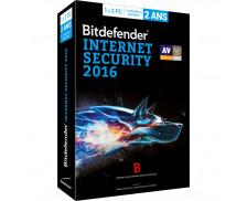 Logiciel Internet Security 2016 - BITDEFENDER - 3 postes - 2 ans