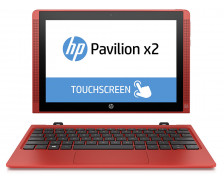 "Tablette hybride HP 10-n200nm - 10.1"" - 32 Go - Rouge"