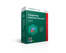 Logiciel Kaspersky Internet Security 2017 - 1 appareil / 1 an