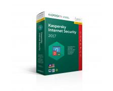 Mise à jour logiciel Kaspersky Internet Security 2017 - 3 appareils / 1 an