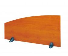 Ecran de séparation JAZZ, largeur : 110 cm - Coloris aulne
