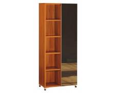 Bibliothèque SANTOS, largeur : 80 cm - Finition palissandre