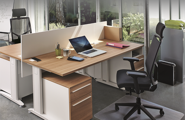 Bureau bench ogi epoxia mobilier
